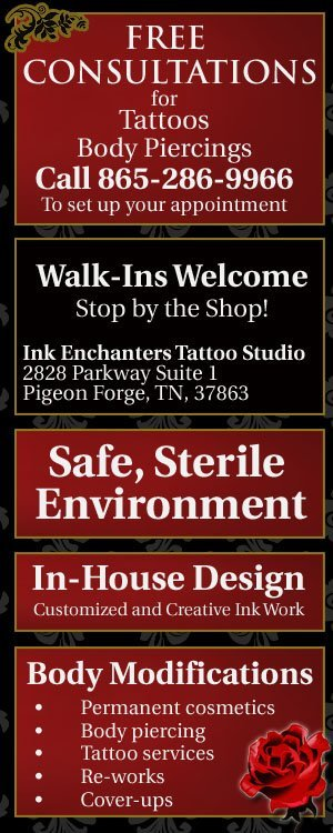 Ink Enchanters Tattoo Studio - Permanent Cosmetics - Pigeon Forge, TN