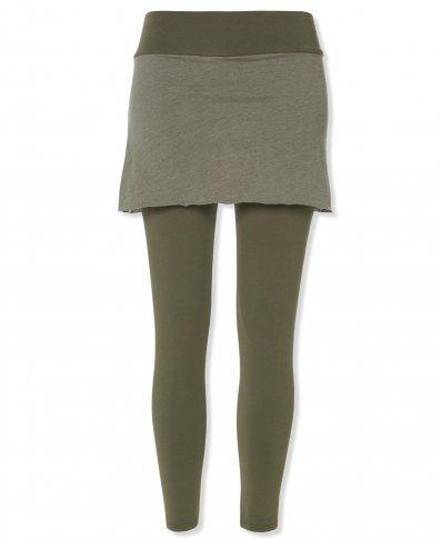 Soal-Flower's Organic Cotton Skirted Pants