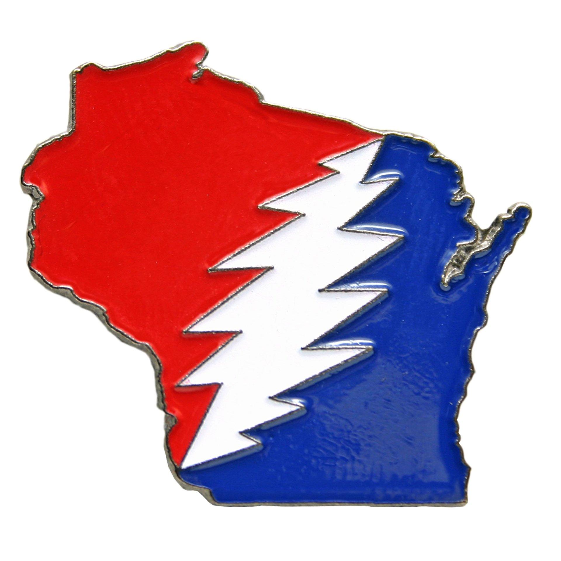Wisconsin Deadhead Pin