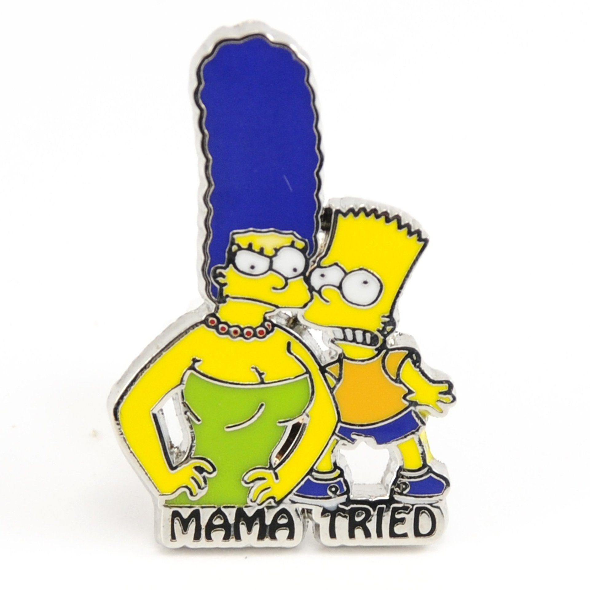 Mama Tried Simpsons Pin