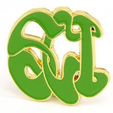 String Cheese Incident Bubble Logo Pin