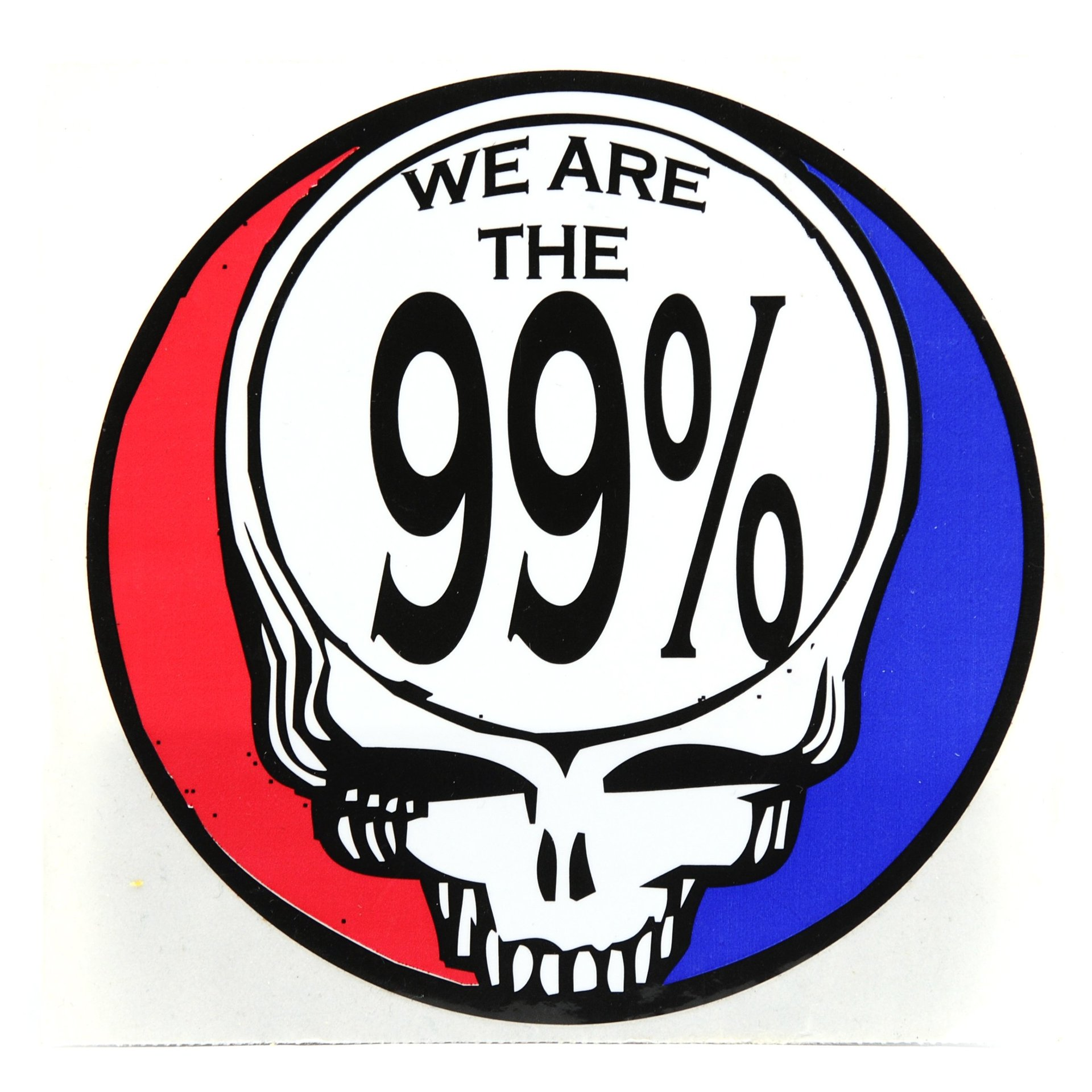 We are the 99% Grateful Dead Sticker
