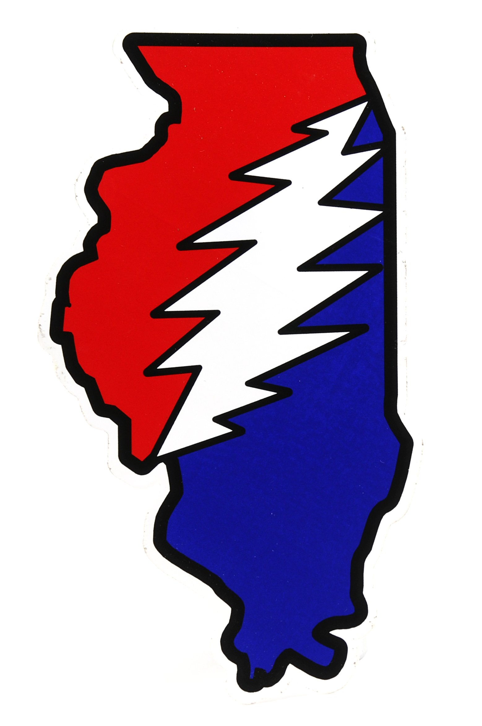 Illinois Deadhead Family Sticker