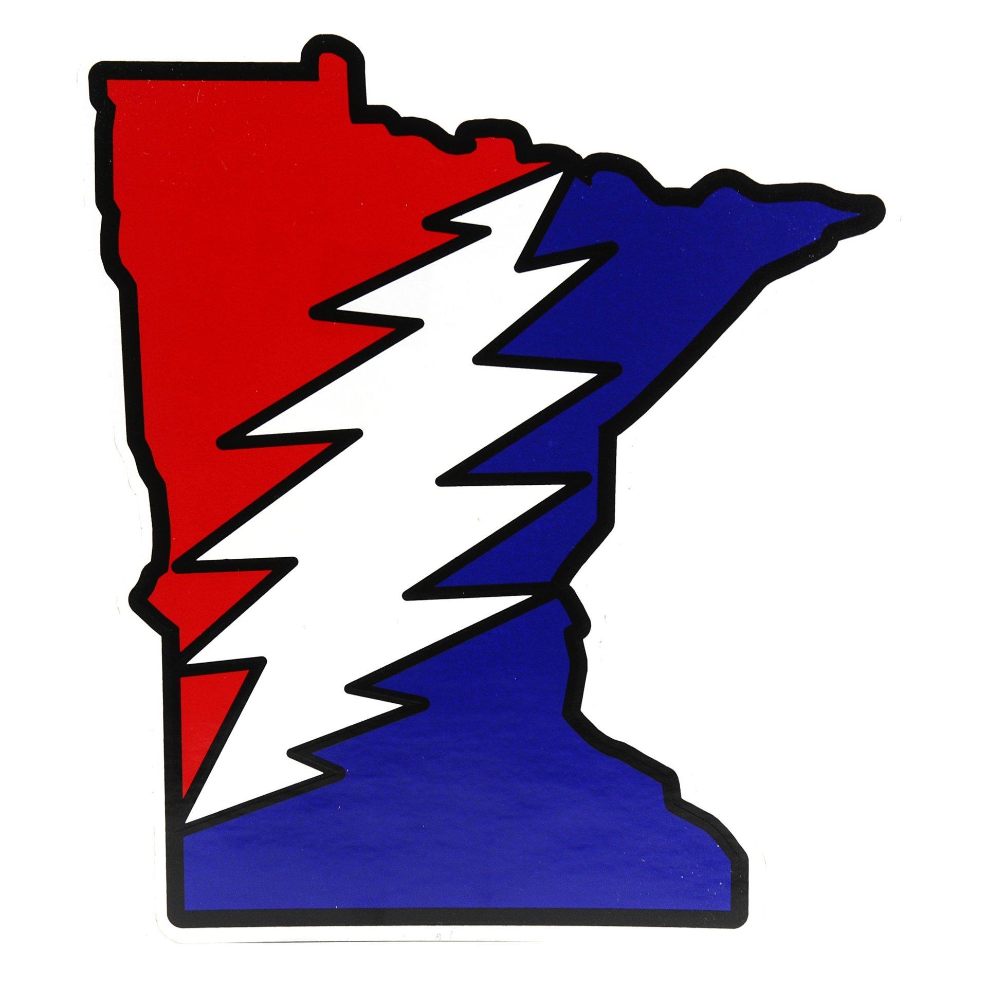 Minnesota Deadhead Sticker