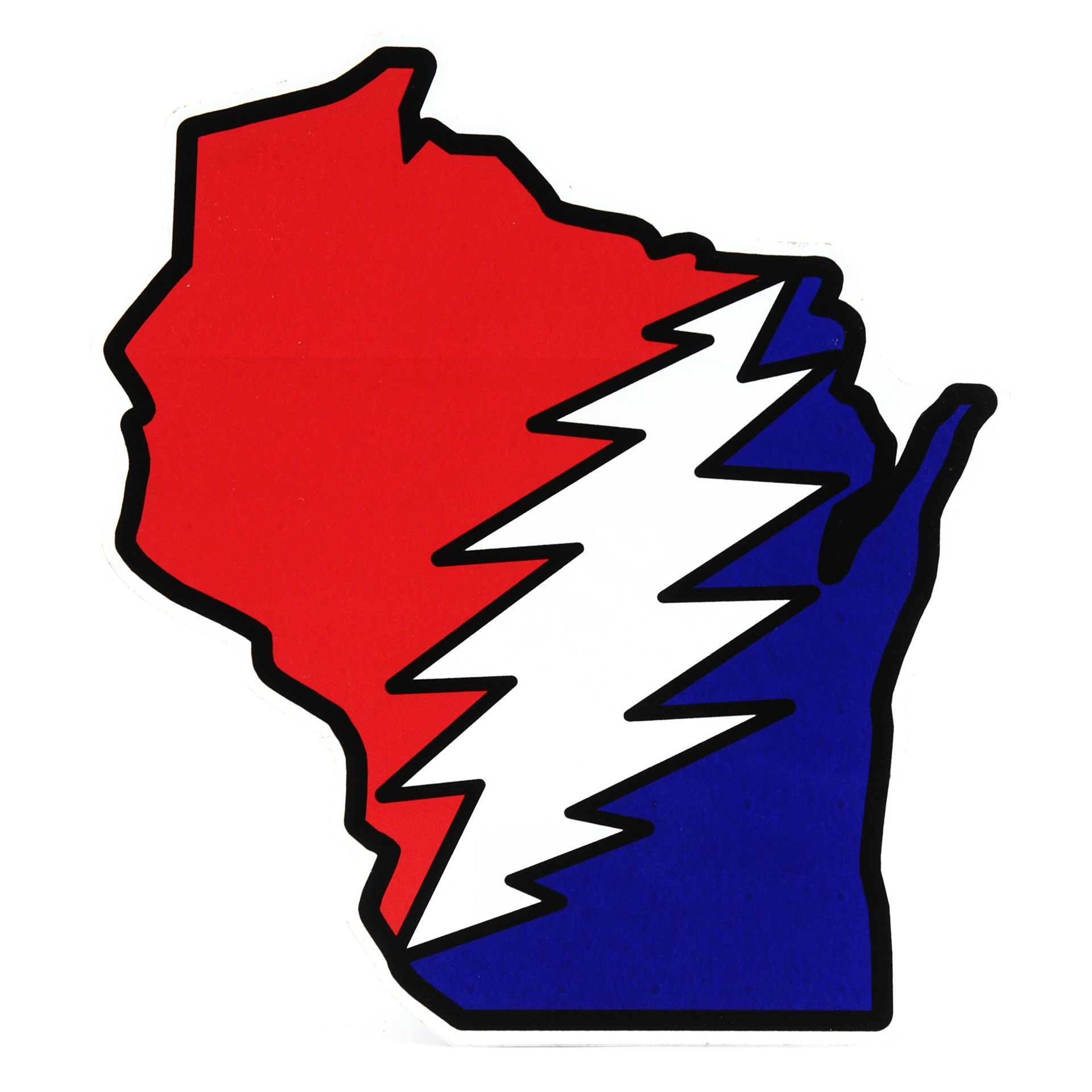 Wisconsin Deadhead Sticker
