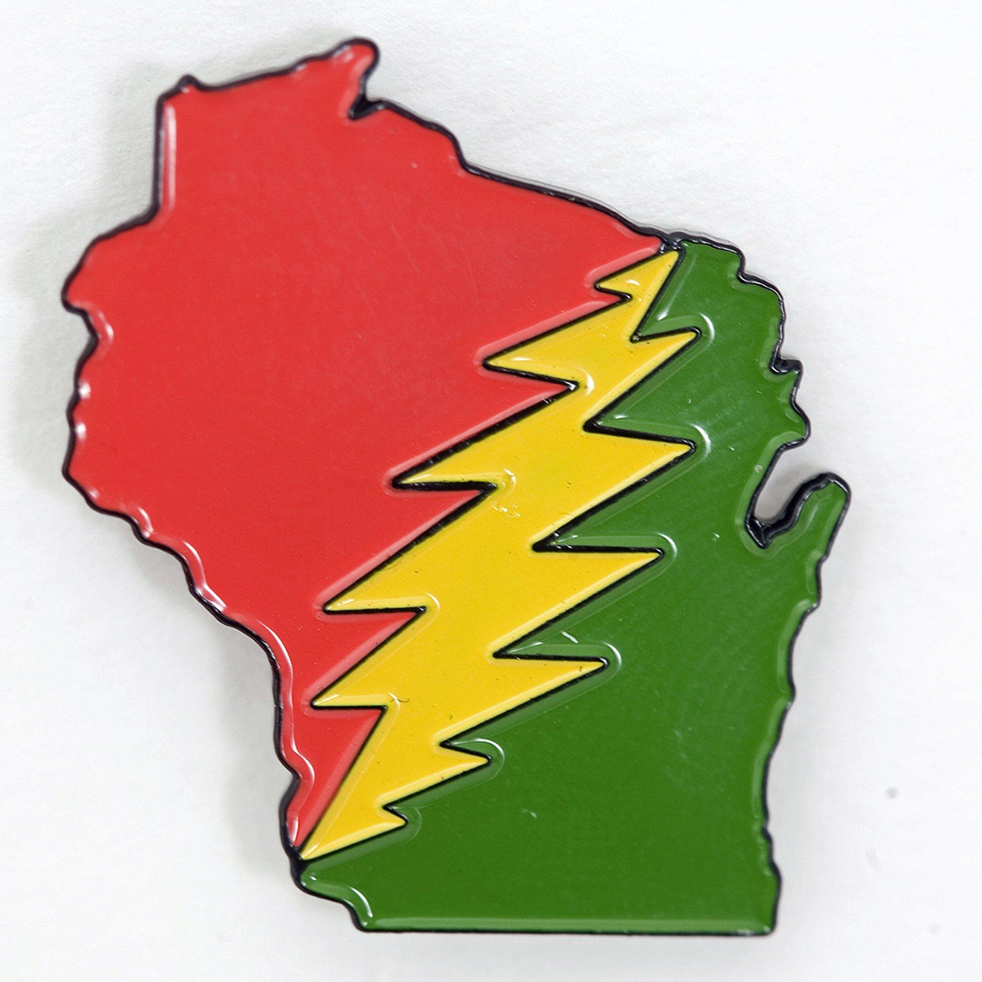 Wisconsin Deadhead Family Pin