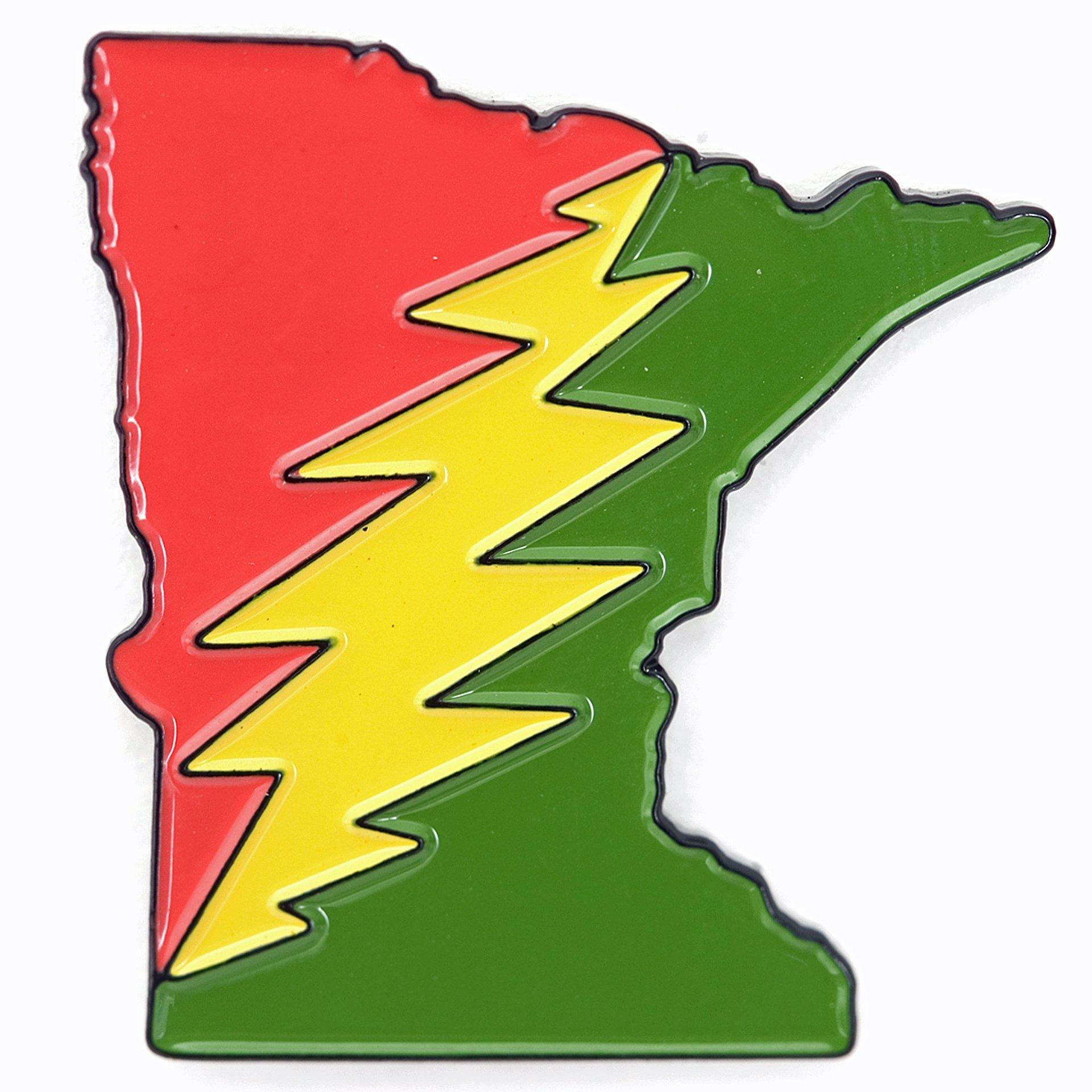 Minnesota Deadhead Pin