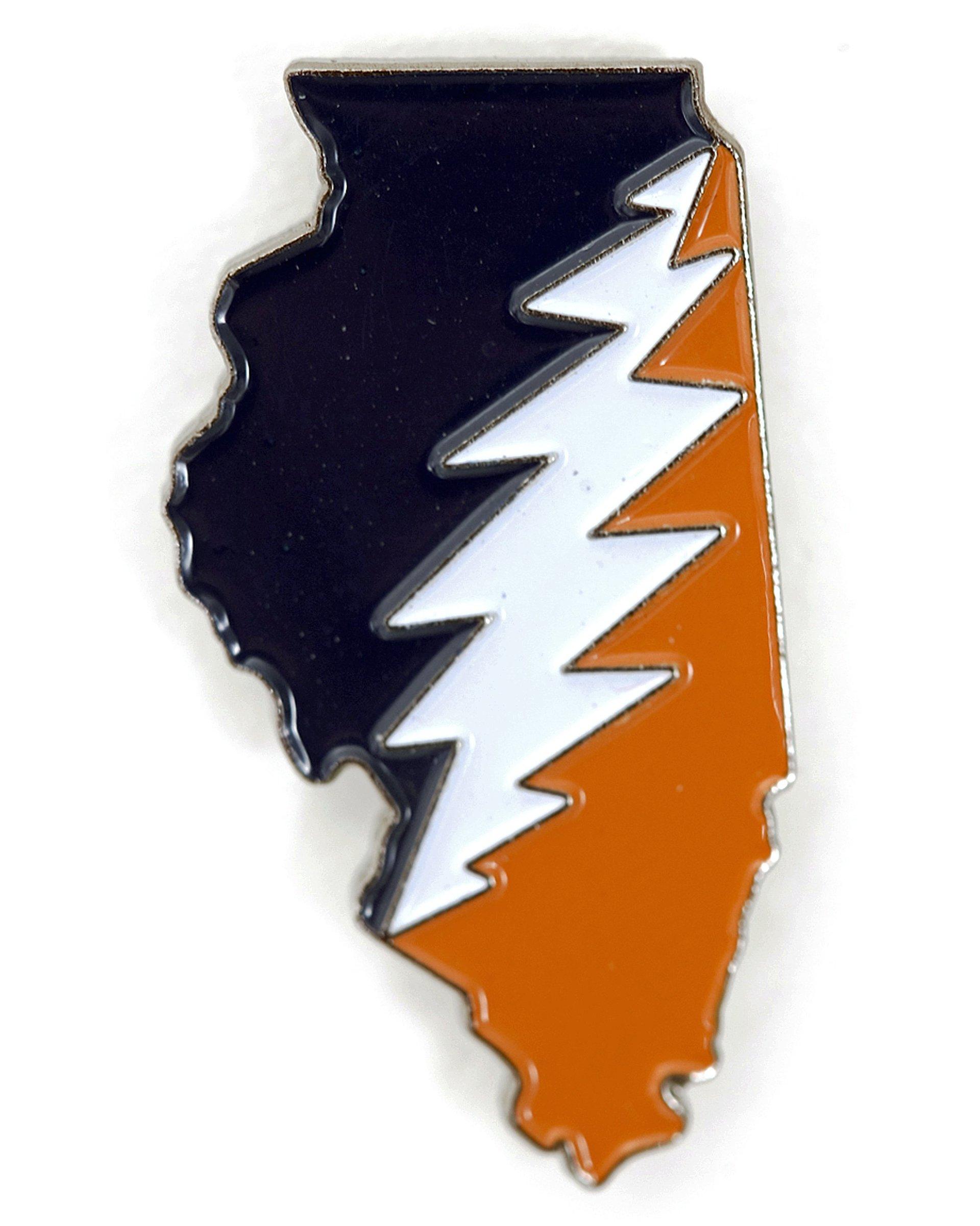 Illinois Deadhead Pin