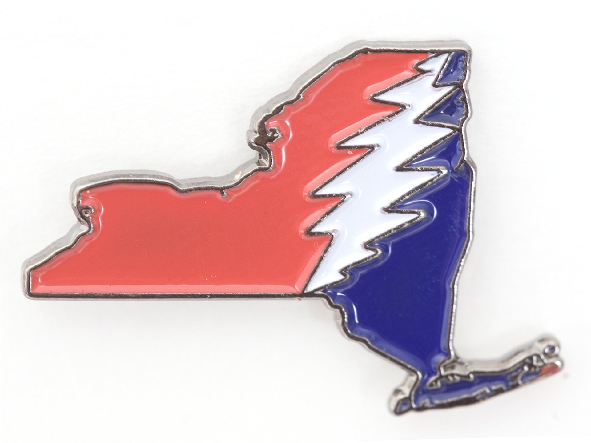 New York Deadhead Pin