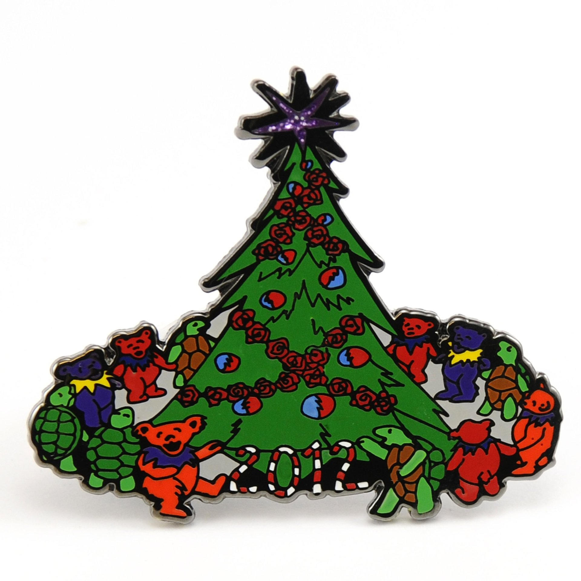2012 Grateful Dead Christmas Pin