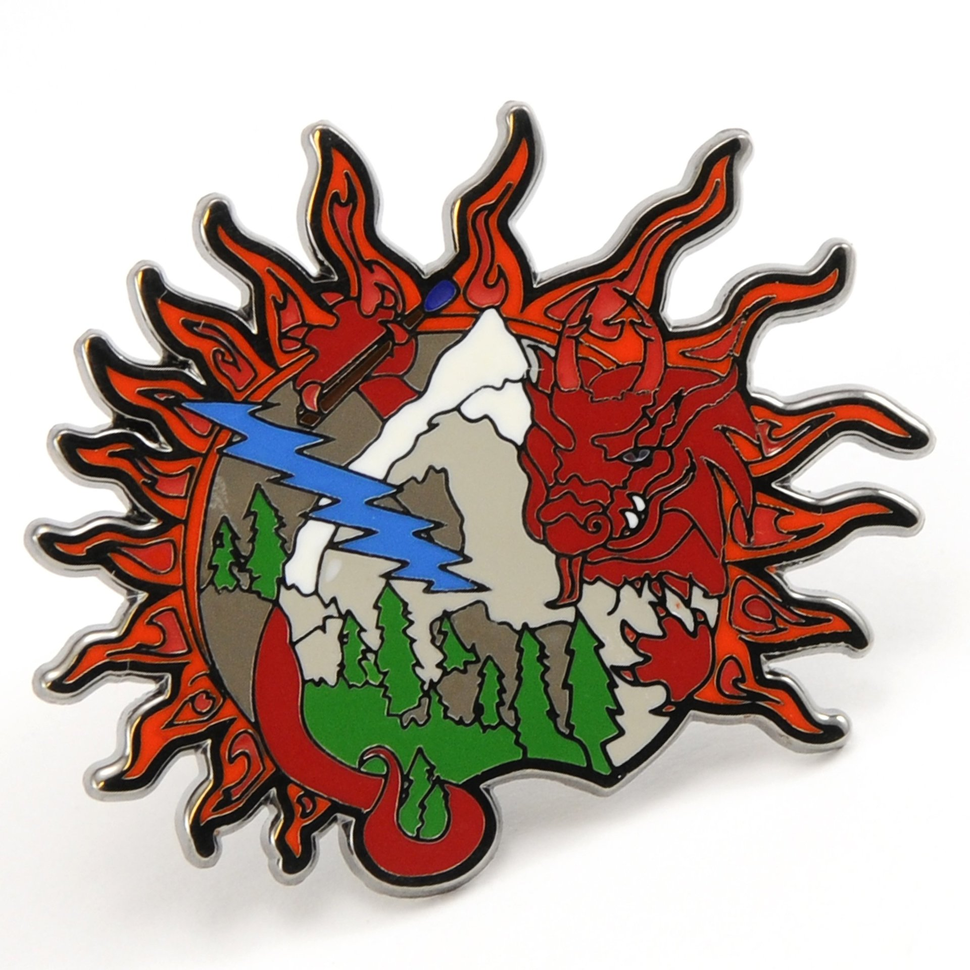Grateful Dead Fire on the Mountain Pin