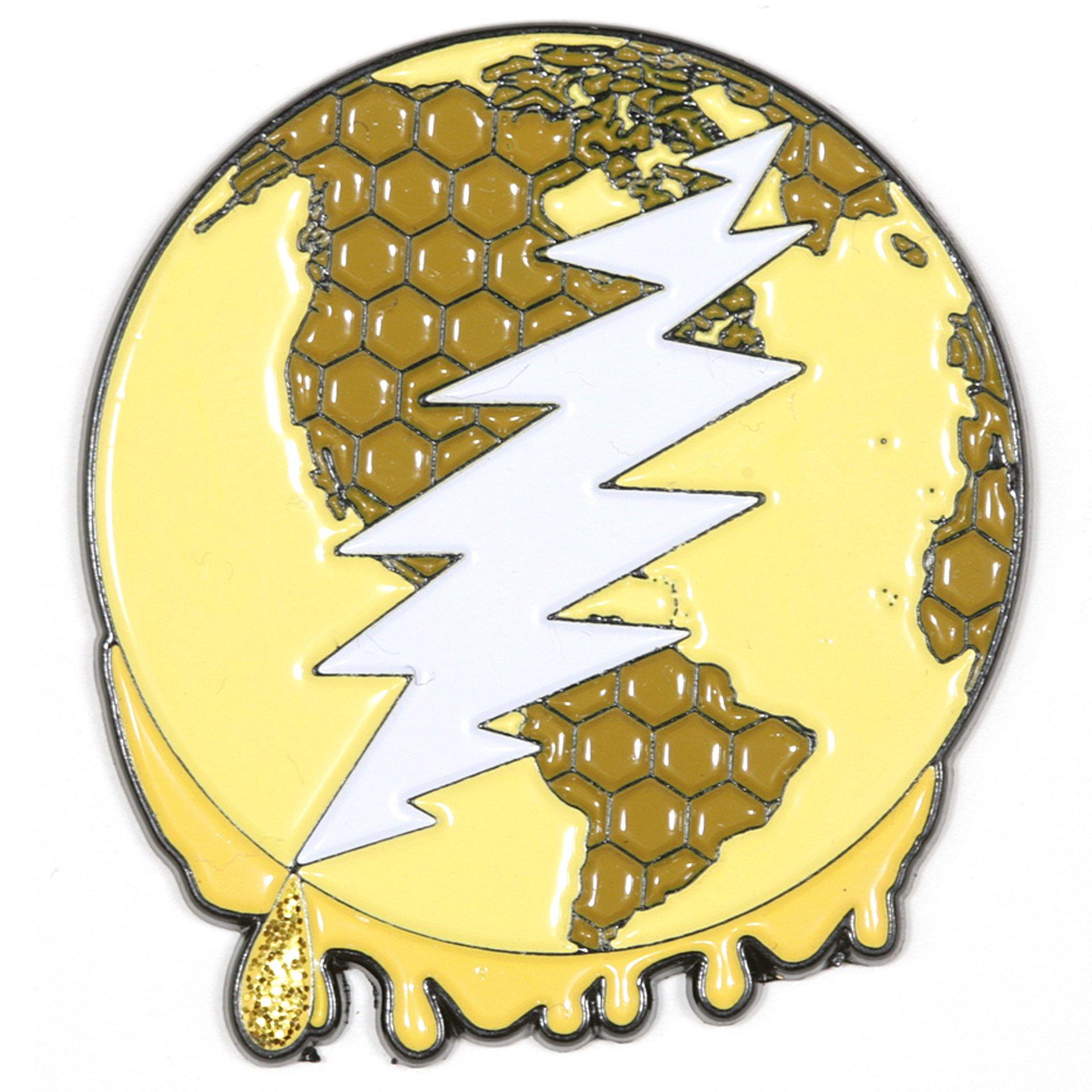 It's a Dab Dab World Deadhead Pin