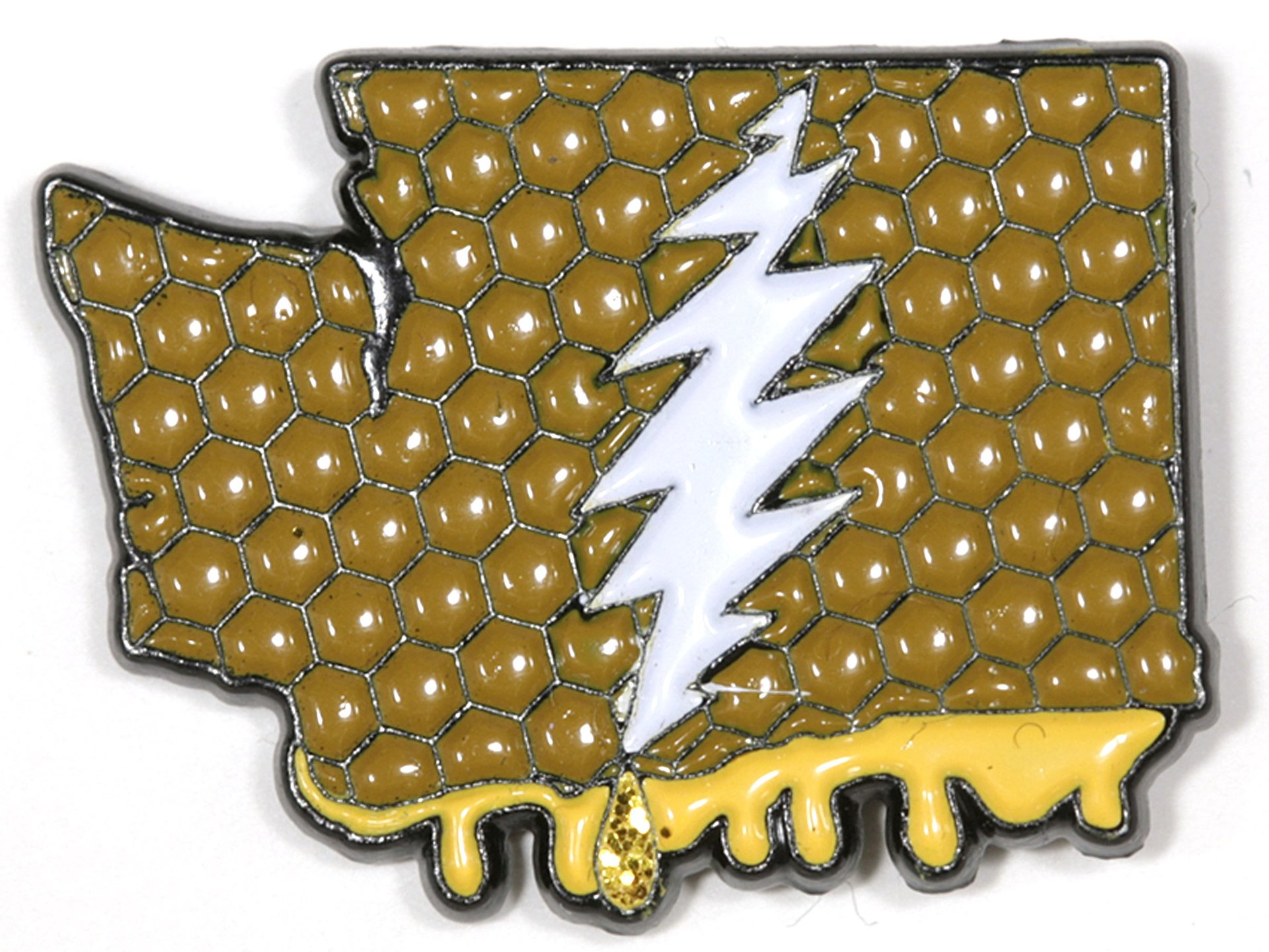 Washington - It's a Dab State of Mind Deadhead Family Pin