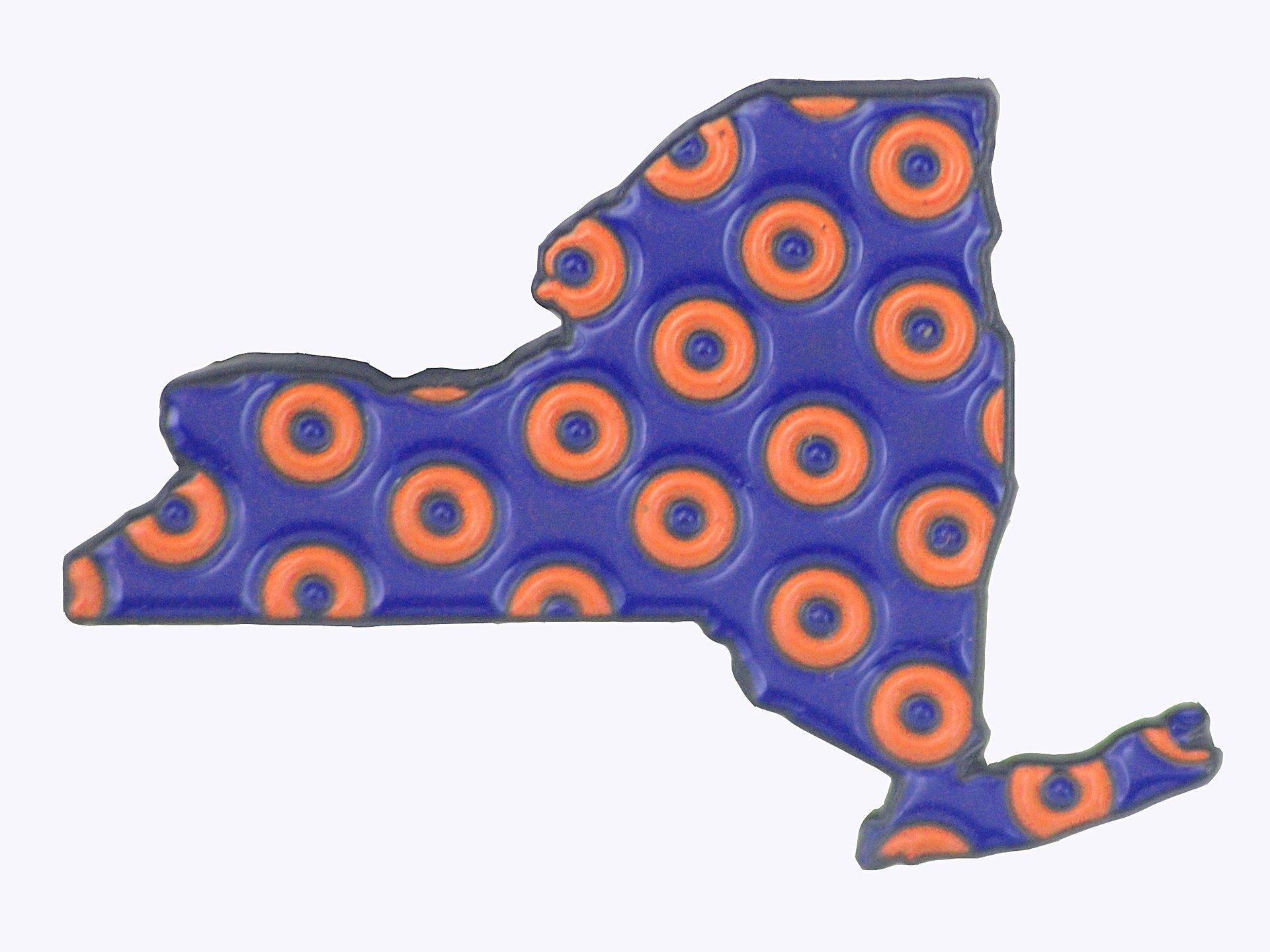 New York - Phish - Fishman Donut Pin
