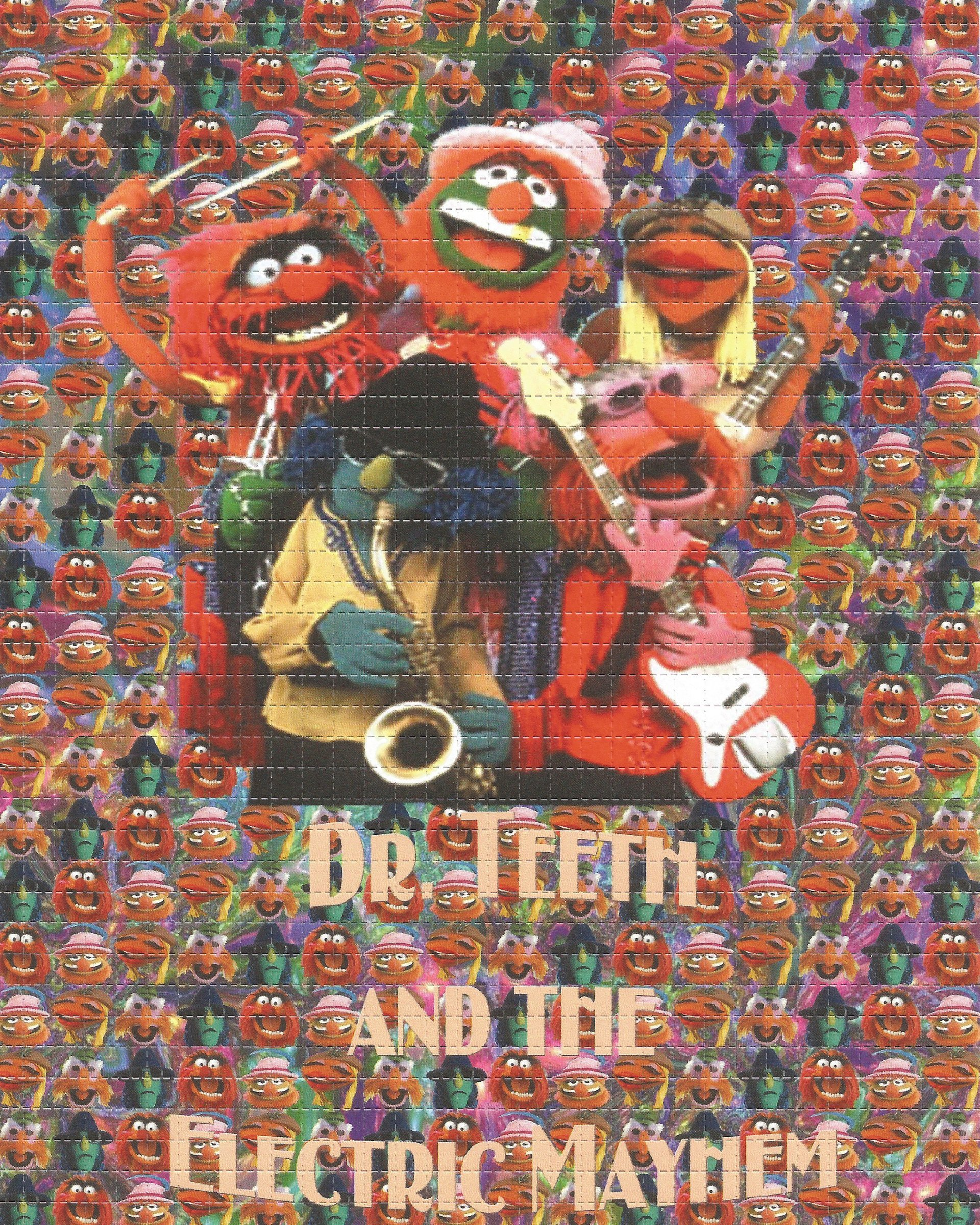 Dr. Teeth and The Electric Mayhem Blotter