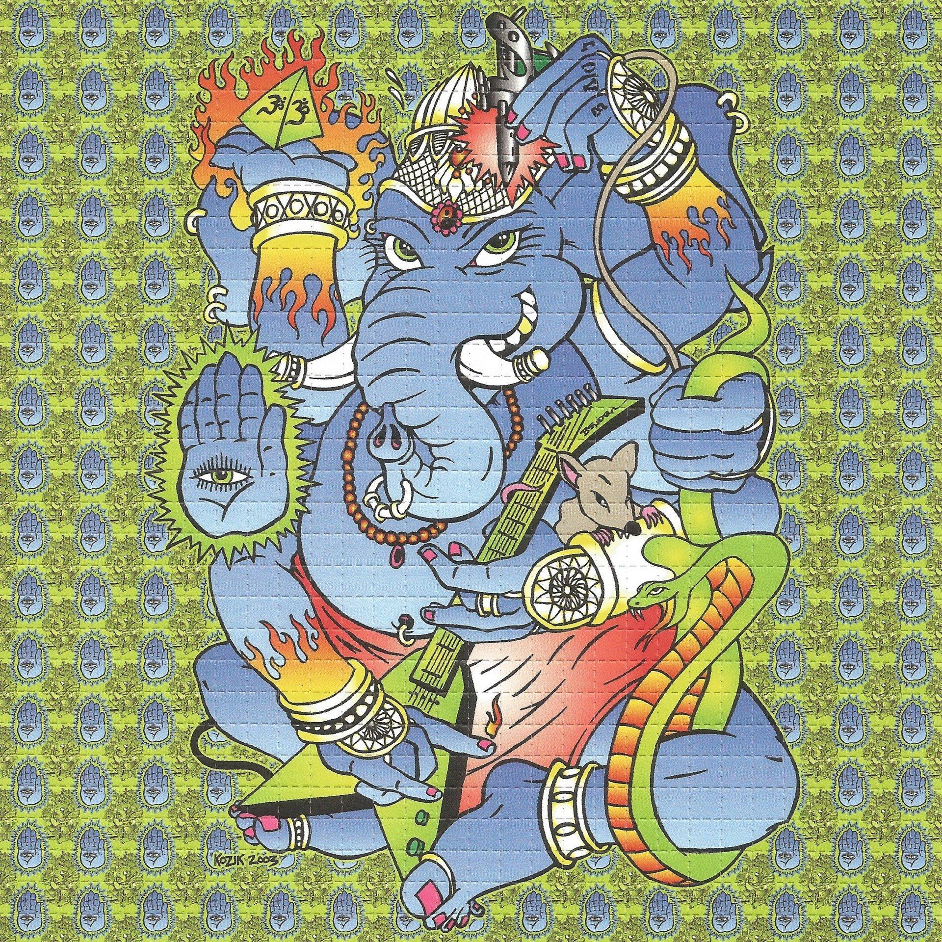 Ganesh - Green Blotter