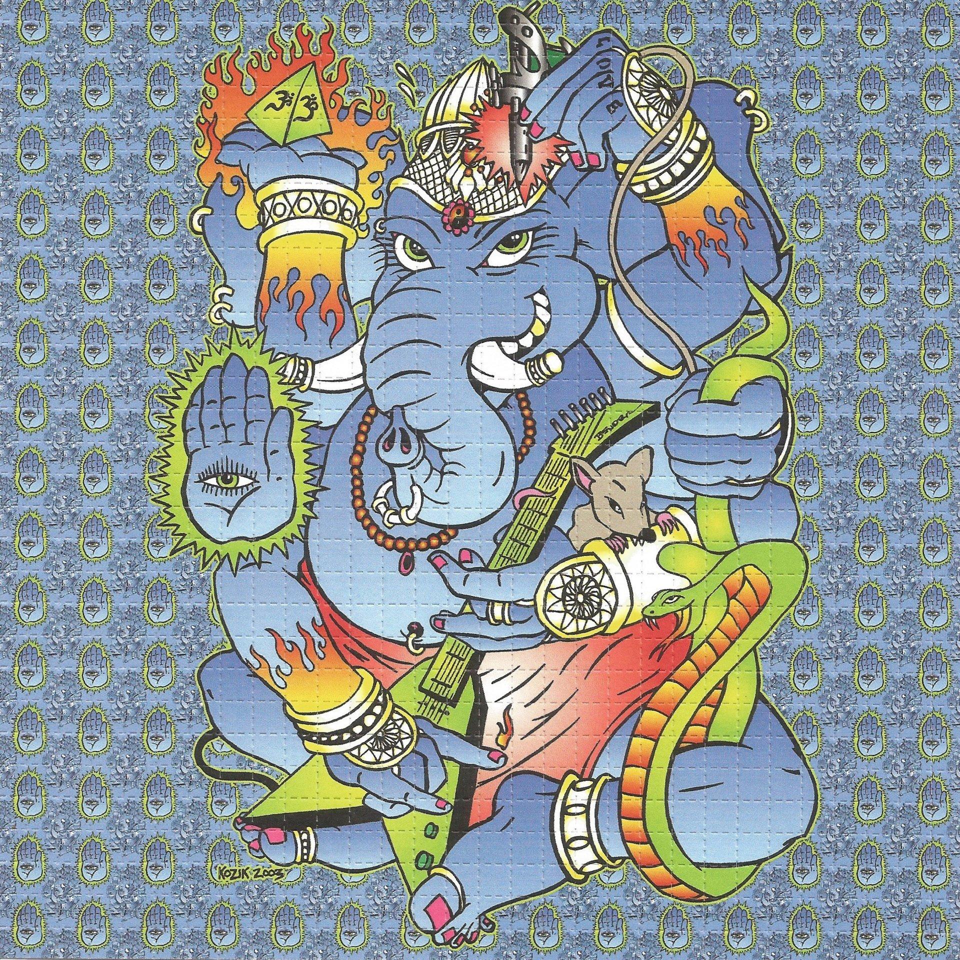 Ganesh - Blue Blotter