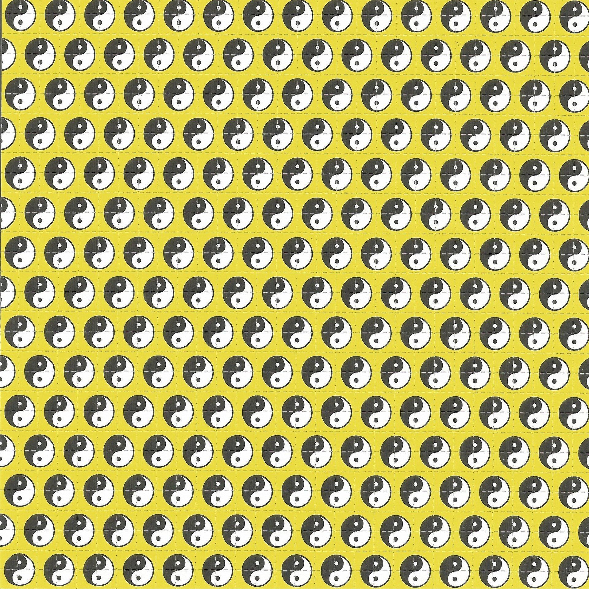 Yin Yans - Yellow Blotter