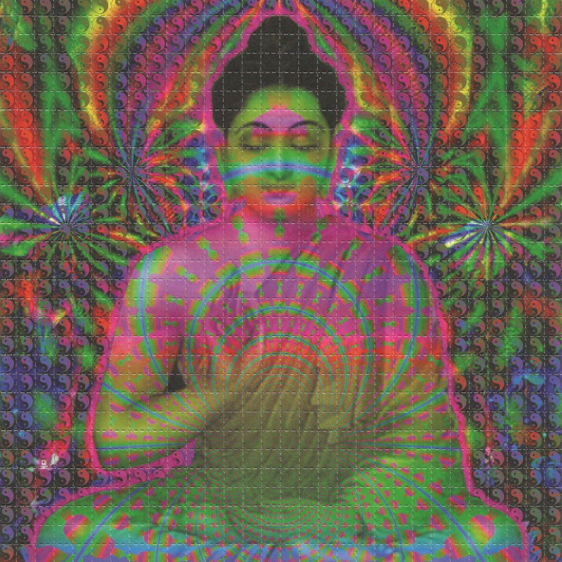 Psychedelic Buddha Blotter