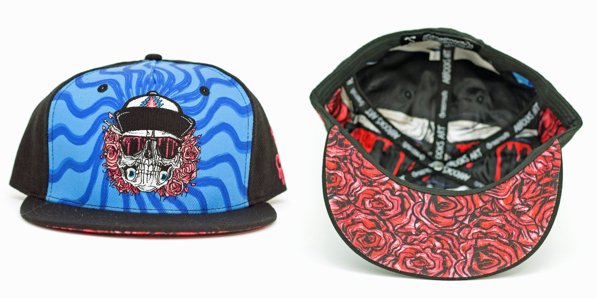 Aaron Brooks Eazy E Rider Fitted Grassroots California Hat