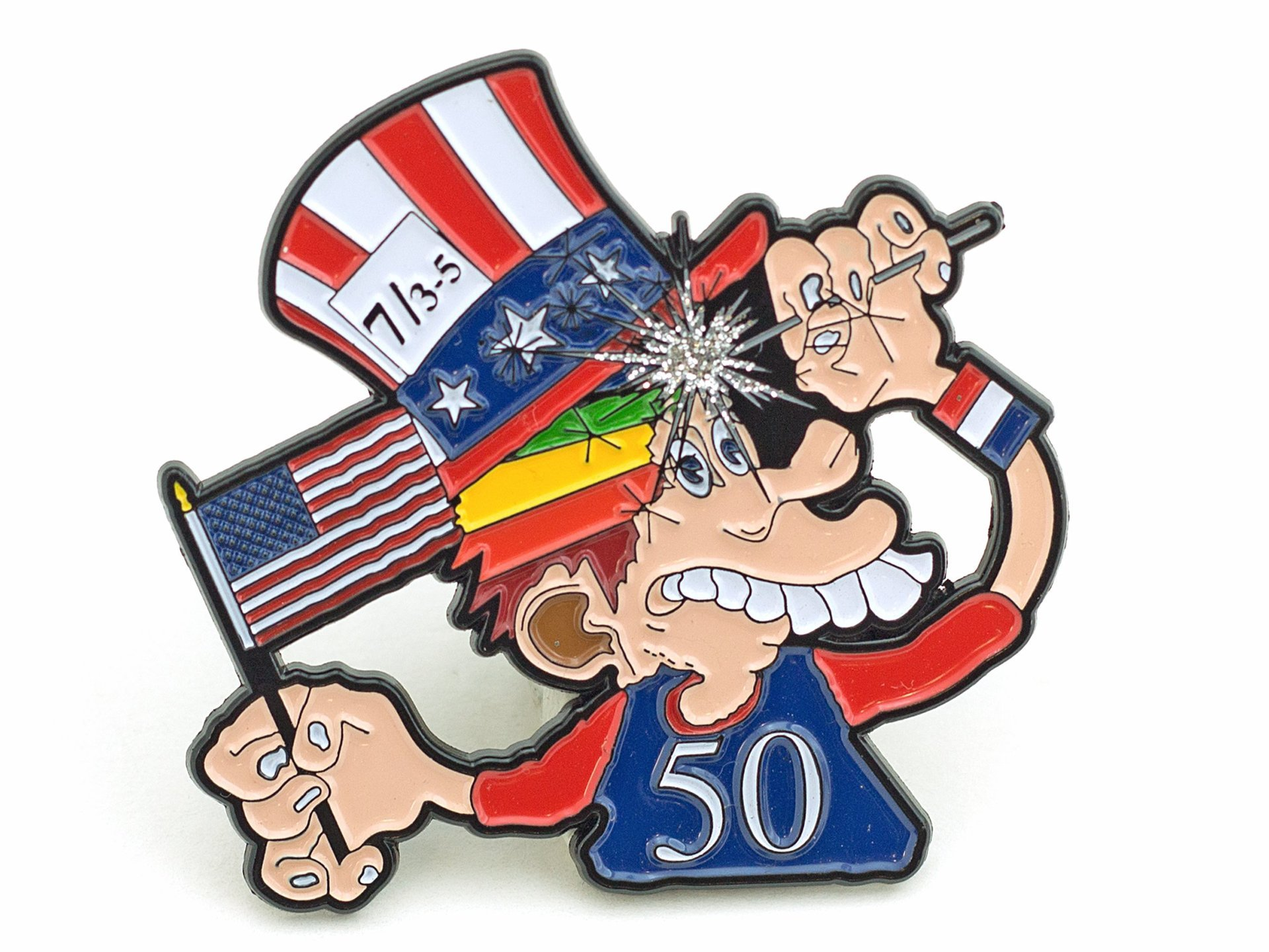 GD Fare Thee Well 50th Pin