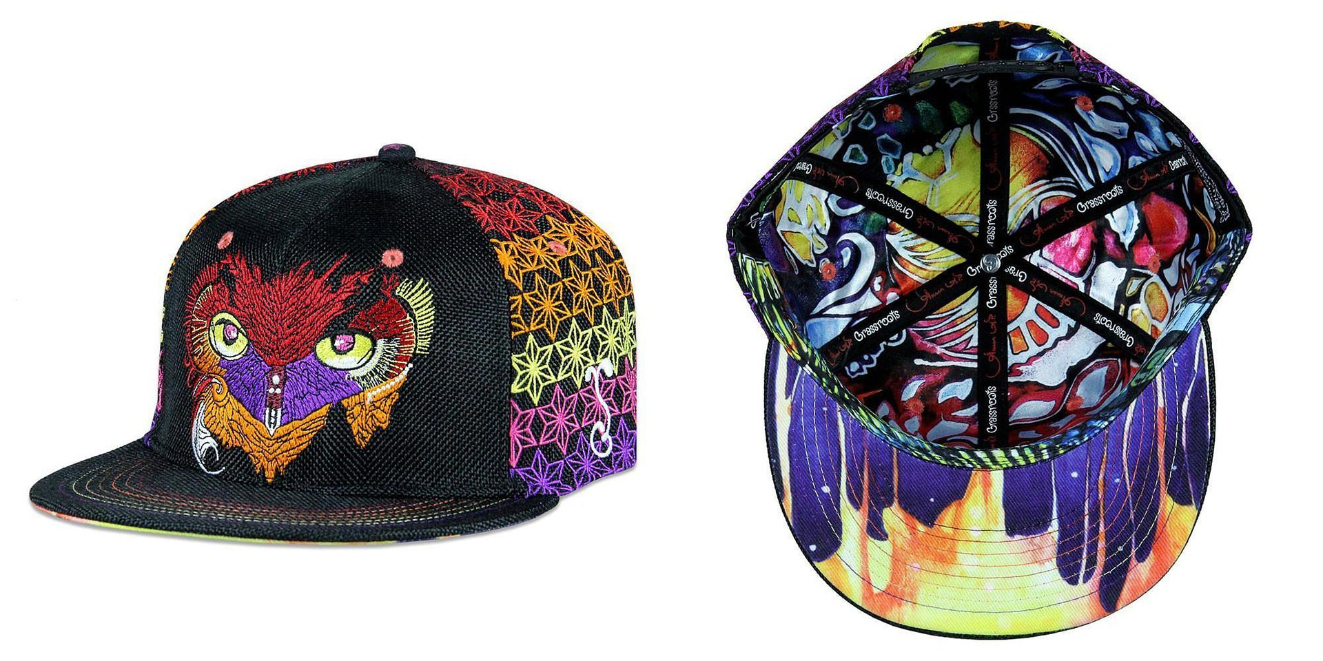Gwen AP Warm Owl Snapback Grassroots California Hat