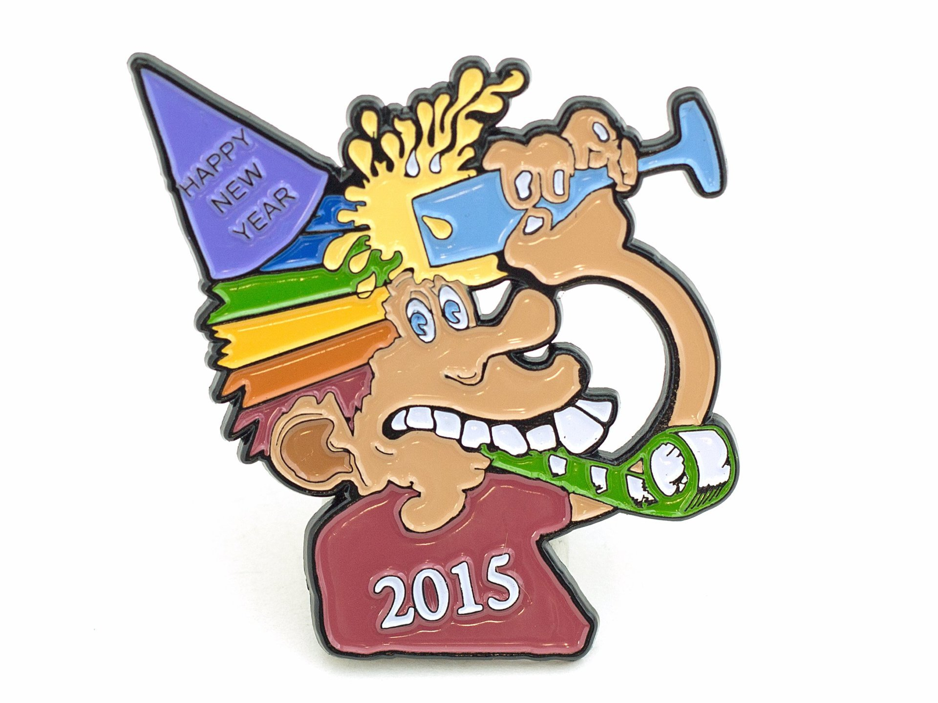 Phil & Friends New Years 2015 Pin