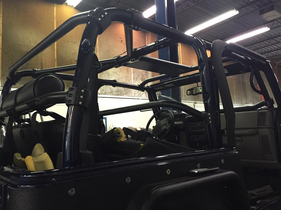 jeep cage upgrade