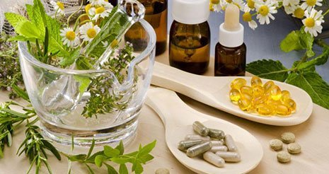 Vitamins and essential oils