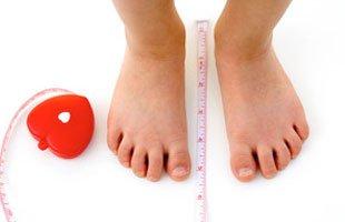 Feet measurment