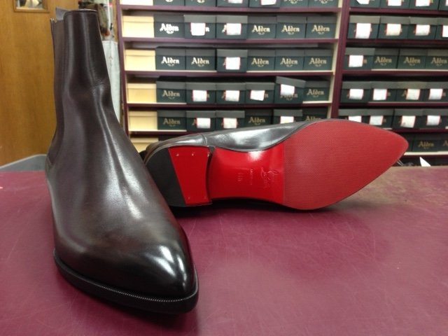 Red protective sole