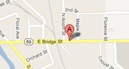 map - Blue Ribbon Grooming 817 East M-89 Plainwell, MI 49080