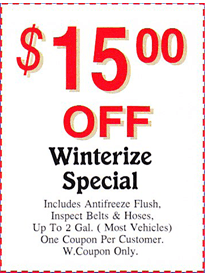 Specials Coupon 4 Mount Kisco, NY - Mount Kisco Automotive Center Inc. - 914-864-1501