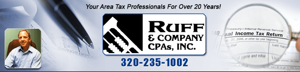 Tax Service - Willmar, MN - Ruff & Company CPA's Inc.
