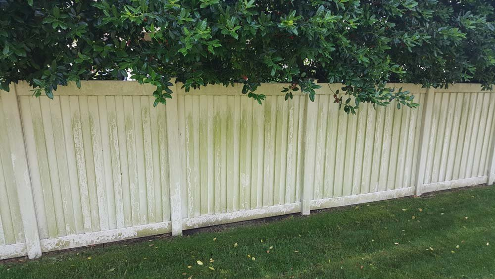 Dirty fence