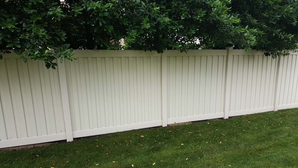 Clean fence