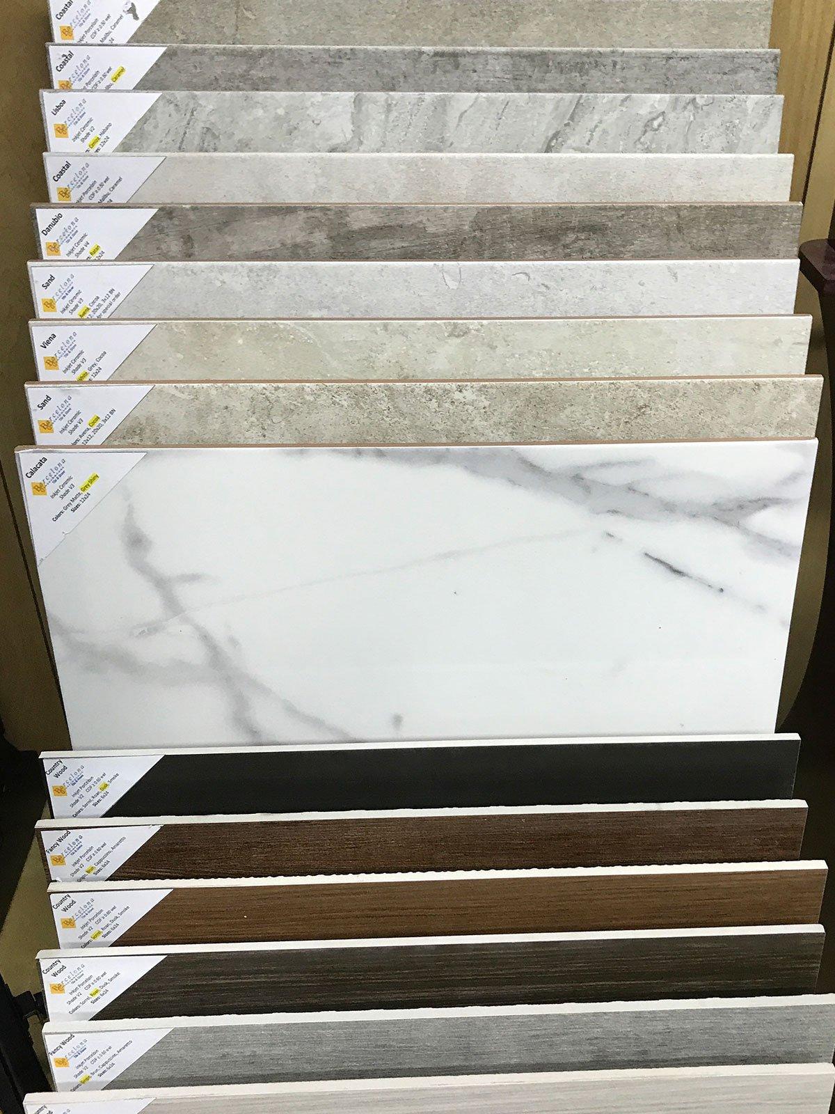 Countertop tile