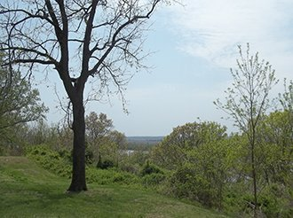 View from Fort Kaskaskia