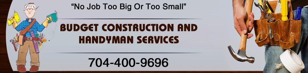 Construction Company - Salisbury, NC - Budget Construction and Handyman Services