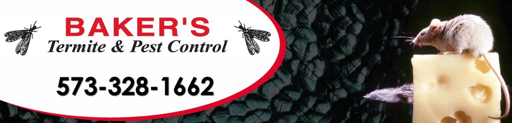Termite Control - Qulin, MO - Baker's Termite & Pest Control