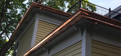 Residential guttering | Somerville, MA | Carroll Sons Inc | 617-625-8334