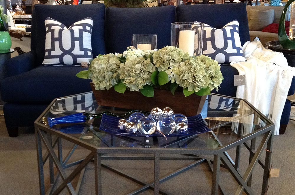 Table decor for living room