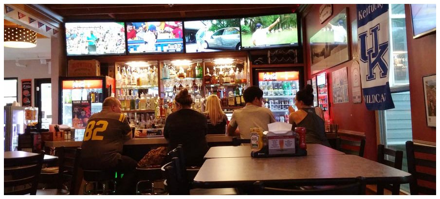 Inside at Brownies the Shed Grille & Bar