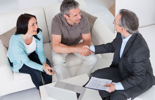 Consultation with financial advisor