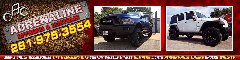 Auto Accessories - Tomball, TX - Adrenaline Offroad & Customs