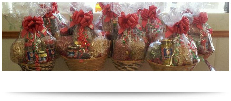 Homemade pasta gift baskets utica ny marias pasta shop give a gift that will satisfy everyone negle Choice Image