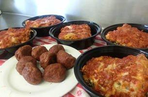 Meatballs and Lasagna