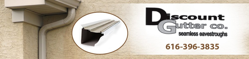 Seamless Gutters - Holland, MI - Discount Gutter Co.