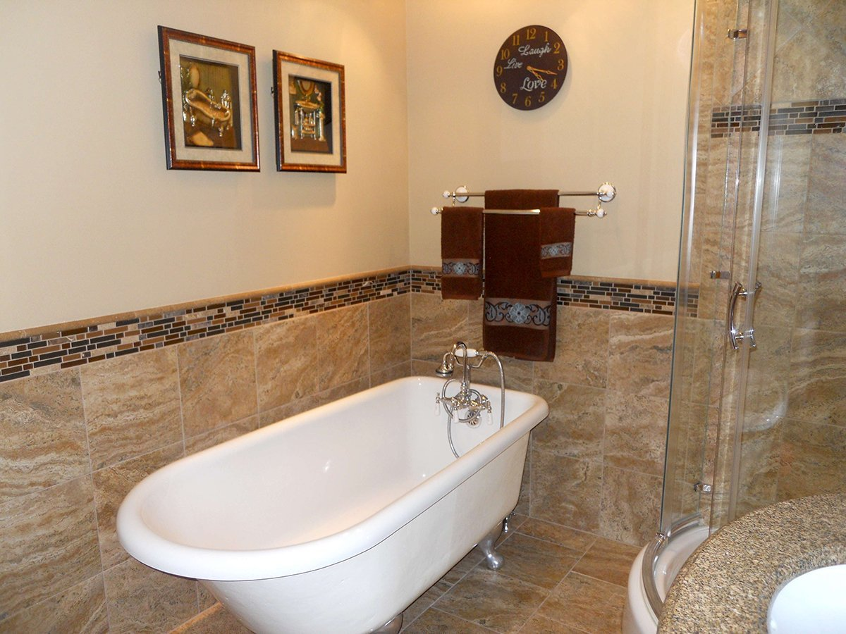 Lutz tile bathroom remodeling projects tacoma wa for Bathroom remodeling tacoma wa