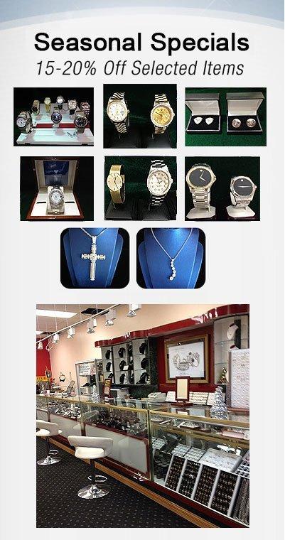 Bethpage, NY  - Davids Jewelry - Jewelry Store